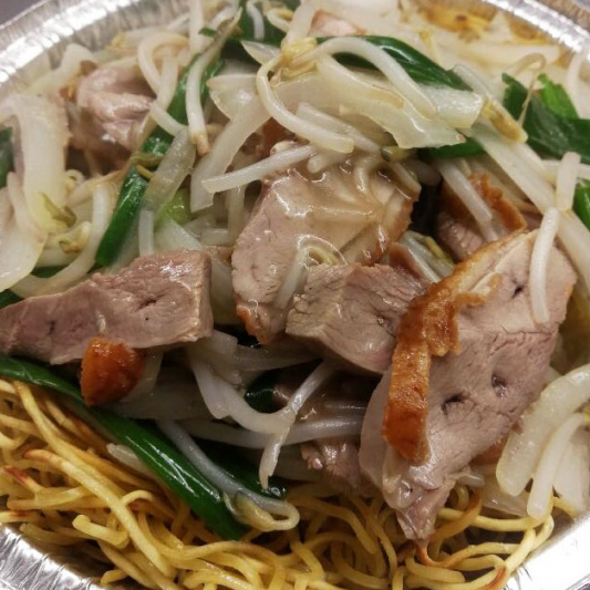 101. Shredded Duck Meats Fried Noodle or Vermicelli