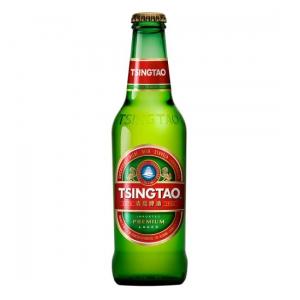 Tsingtao, 355mL bottle beer (4.8% ABV)