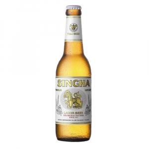 Singha Premium Import, 11.2oz bottle beer (5.0% ABV)