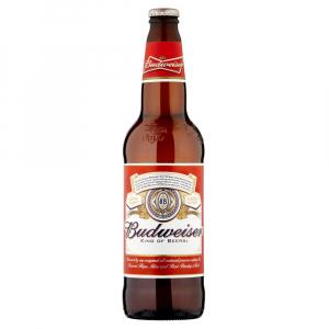 Budweiser, 12oz bottle beer (5.0% ABV)
