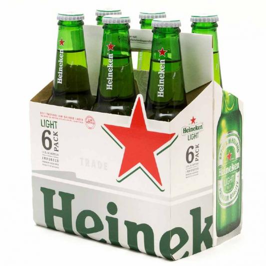 Heineken, 6pk-12oz bottle beer (5.0% ABV)