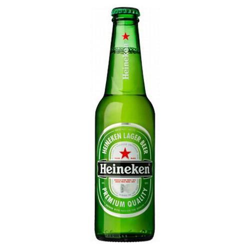Heineken, 12oz bottle beer (5.0% ABV)