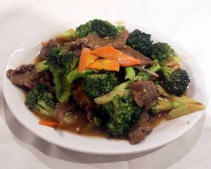 60a. Chicken or Beef with Broccoli