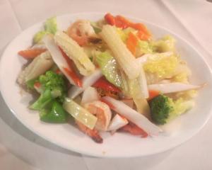 26. Seafood Fried Noodles