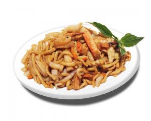 62. Seafood Sauteed with Spaghetti