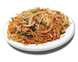 28. Stir Fried Soy Bean Noodles with Soy Sauce