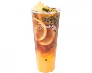 Passion Fruit Pu'er Tea (Cold)