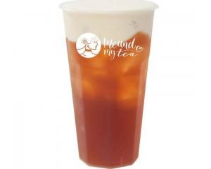 Milk Foam Black Tea
