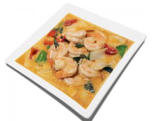 18b. Red Curry Shrimp