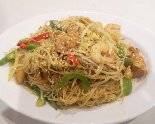 29. Singapore Style Fried Vermicelli