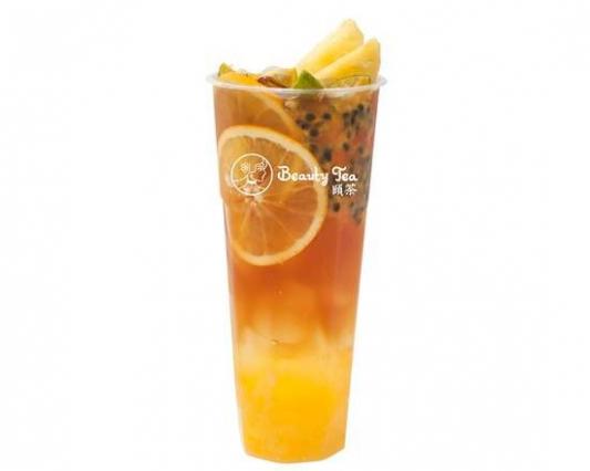 Passion Fruit Black Tea (Cold)