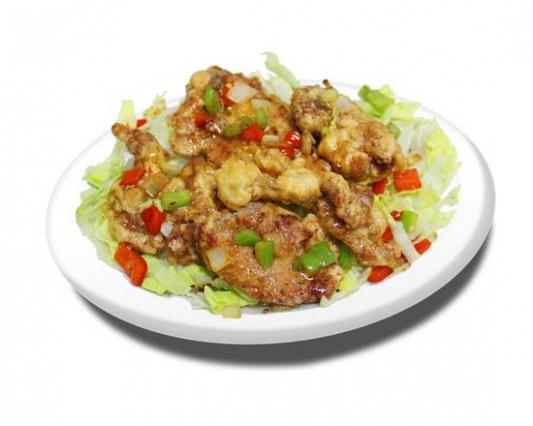 64. Salt and Pepper Pork Chop