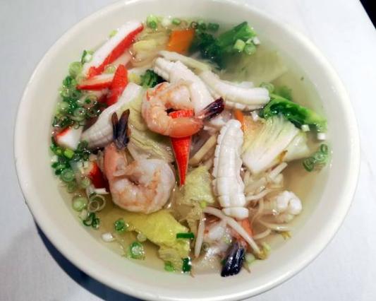 11a. Seafood Noodle Soup