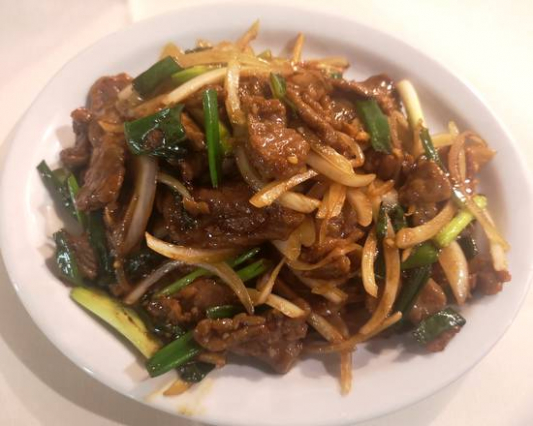 17. Stir Fried Chicken or Beef with Ginger