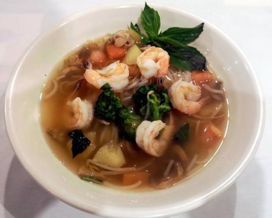 12. Tom Youm Noodle Soup