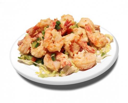 59a. Salt and Pepper Shrimps