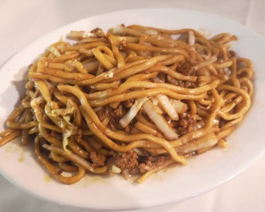 27. Chicken or Pork Shamghai Style Noodles