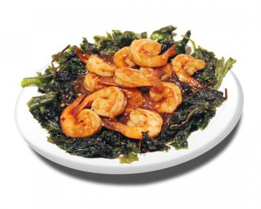 58. Shrimps with Szechuan Black Pepper Sauce