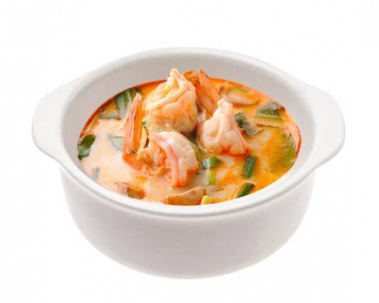 5. Tom Yum Soup with Shrimp