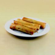 1. Spring Roll (Vegetarian)