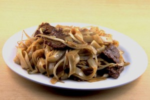 121. Pan Fried Beef Rice Noodle