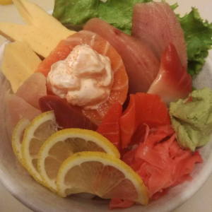 Chirashi Sashimi Don
