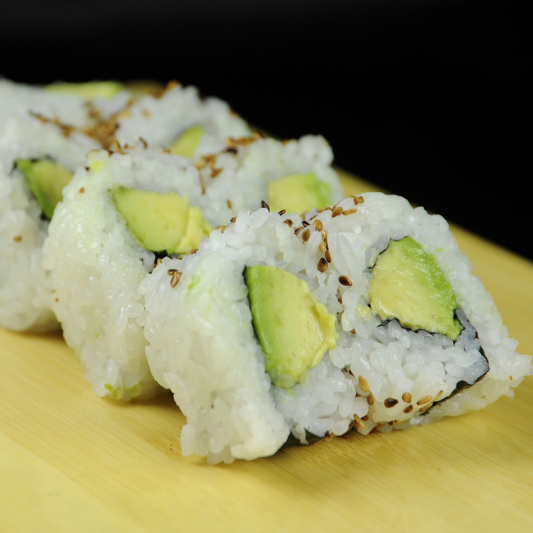 10.Avocado Roll