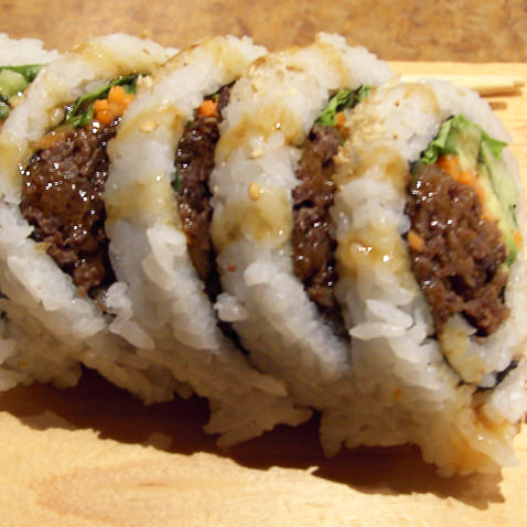 26. Beef Teriyaki Roll (5 pcs)