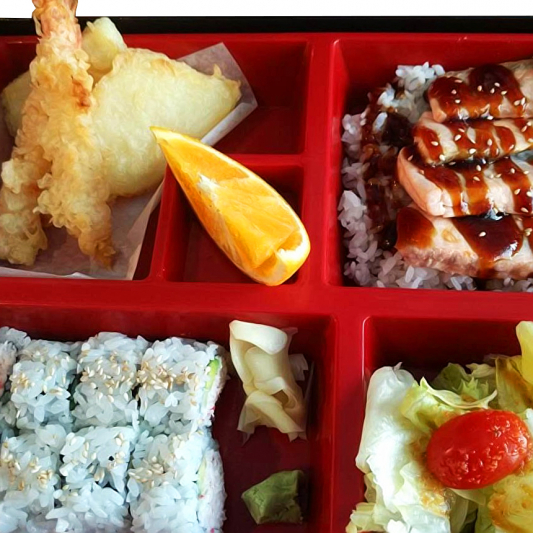 Salmon Teriyaki Box