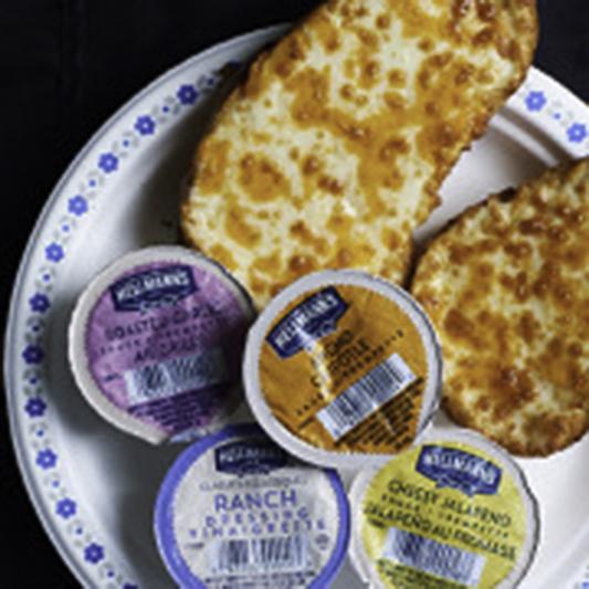 Cheesy Toast (2 pcs)
