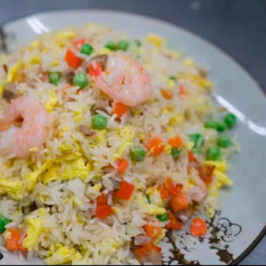 808. Riz Frit Spécial Maison (Yang Chow) / House Special Fried Rice (Yang Chow) / 扬州炒饭