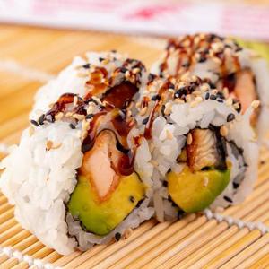 Teriyaki Salmon Roll