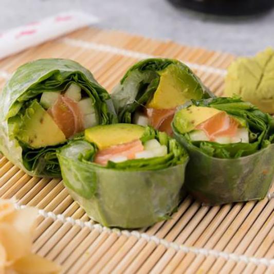 Salmon Salad Roll