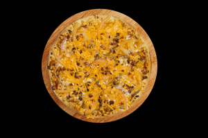 12'' Bacon Double Cheese Pizza