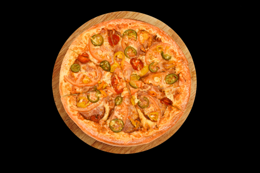 One 12'' Hot & Spicy Pizza