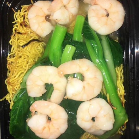 N15 Shrimp Chow Mein