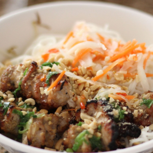 Grilled Pork with Vermicelli