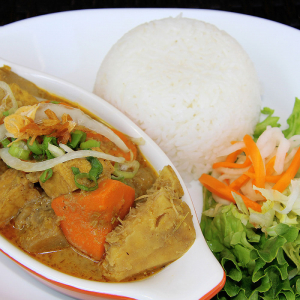 V11. Vegan Curry on Rice