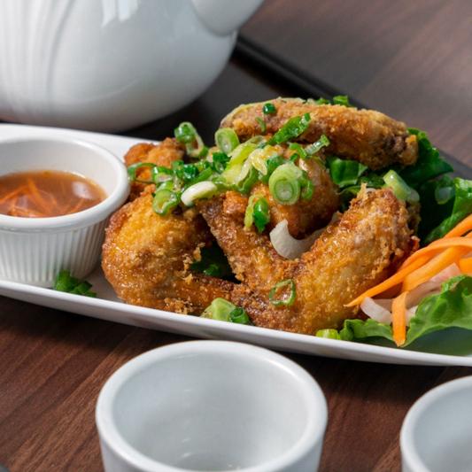 02D. Butter Fried Chicken Wings