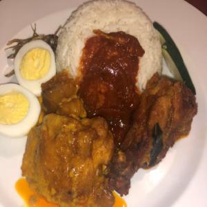 Nasi lemak (Coconut rice)