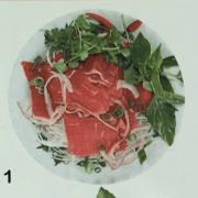 #1. Rare Steak Noodle Soup (Phở Tái)