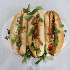 A3. Grilled Chicken Viet Sub (Banh Mi Dac Biet)