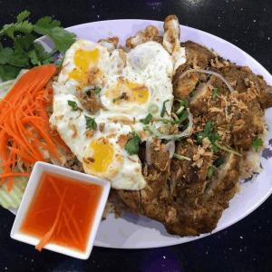 #51. Grilled Lemongrass Chicken on Fried Rice (Cơm Chiên Gà Ướp Xa)