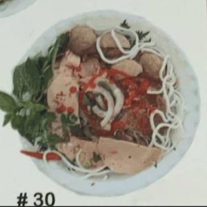 #30. Hue's Special Spicy Thick Vermicelli (Bún Bò Hu)