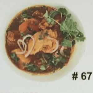 #67. Curry Chicken with Vermicelli (Bún Cà Ri Ga)