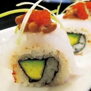 Ika+Natto Roll