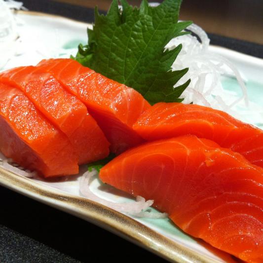 Wild Salmon Sashimi