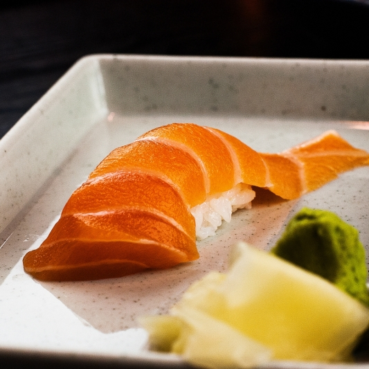 Wild Salmon Nigiri