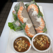 01. Hanoi Salad Rolls (2 pcs)