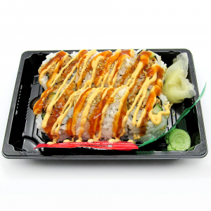 Spicy Cooked Salmon Roll